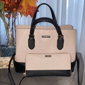 Kate spade bag and matching wallet